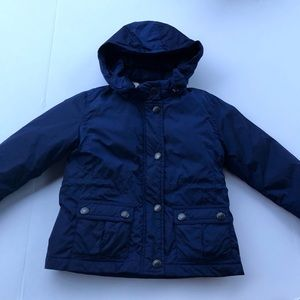 Burberry Goose Down Navy Kids Baby Jacket